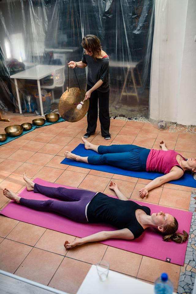 Masaż Dźwiękiem, Masaż misami tybetańskimi, Masaż gongiem